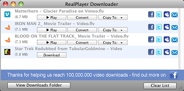 questo video realplayer